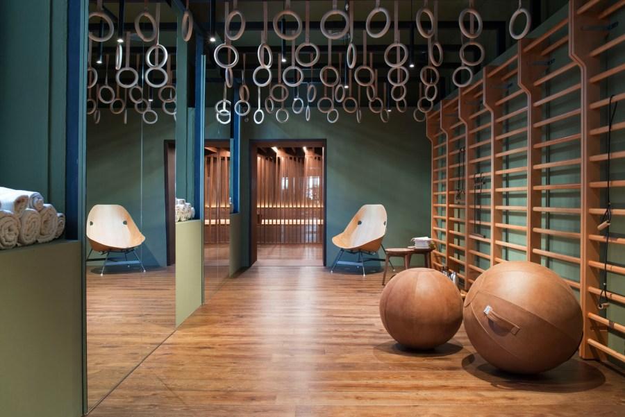 Elle Decor Design Therapy, Active Body - Gym. Foto © Marco Bertolini