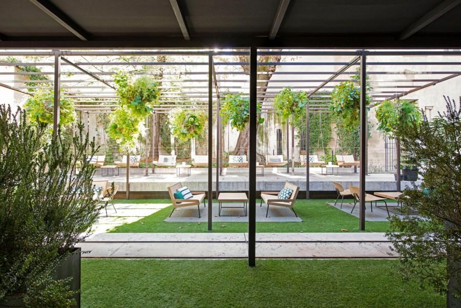 Elle Decor Design Therapy, Déjeneur sur l'herbe - Restaurant. Foto © Marco Bertolini