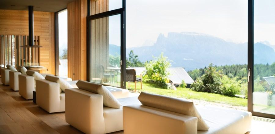 Adler Lodge Spa: Wellness unter Bäumen: