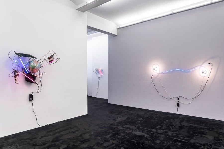 Ausstellung «Dialog III: Licht» Häusler Contemporary, Zürich. Foto © Peter Baracchi