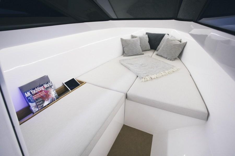 Purevolt Yachts Schlafplätze unter Deck