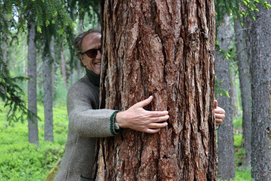 Man muss den Rohstoff Holz einfach lieben, oder?
