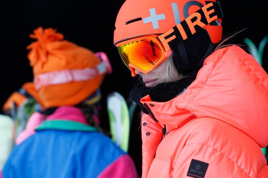 Fire+Ice Fahrer: Bene, Sven, Laura in Sölden.
