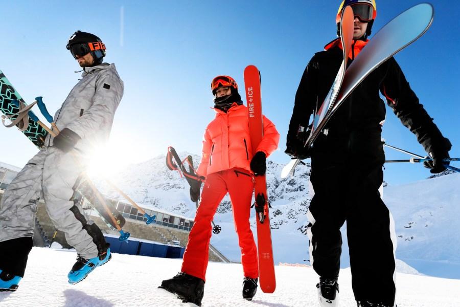 Mit Bene Mayr, Sven Kueenle und Laura Fritzenwallner wirkten diesmal einige der besten aktuellen Freeskier mit.