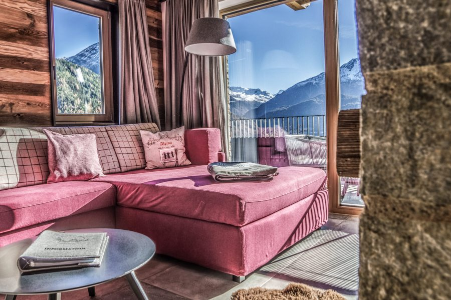 The Peak: Appartements und Chalets im alpin Style.