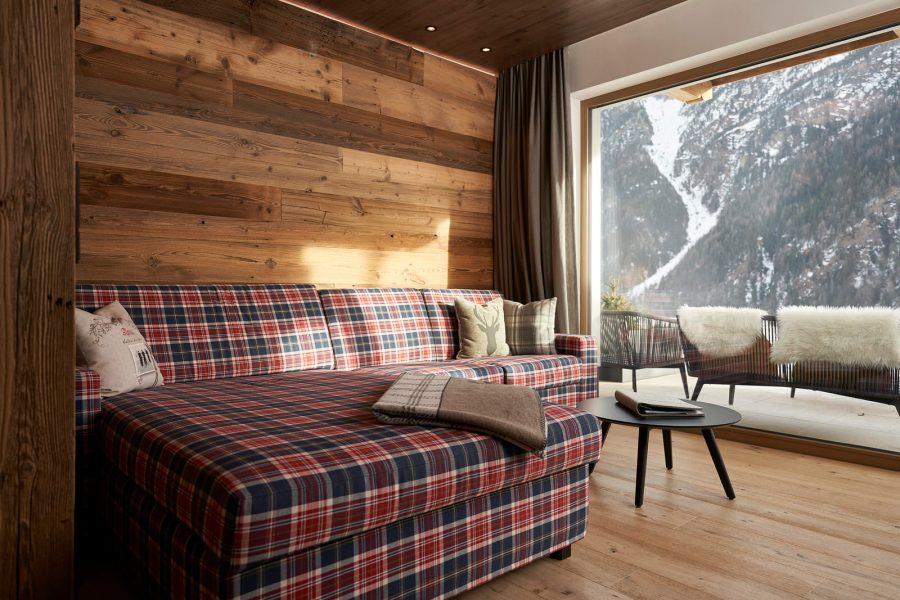 The Peak: Wohnen im Appartement Ötztaler Alpen auf 43m2.