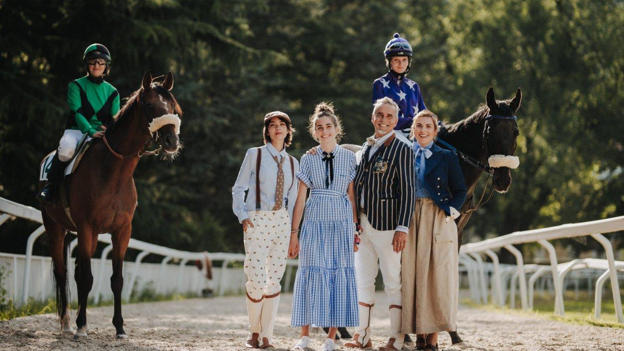 Michi Klemera mit seinen Töchtern