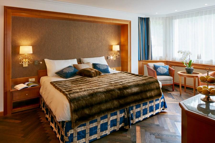 Zimmer im Hotel Walther.