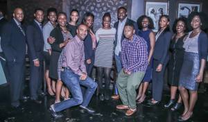 Entrepreneurs and Panelists at the NYC Metro National Black MBA Association event