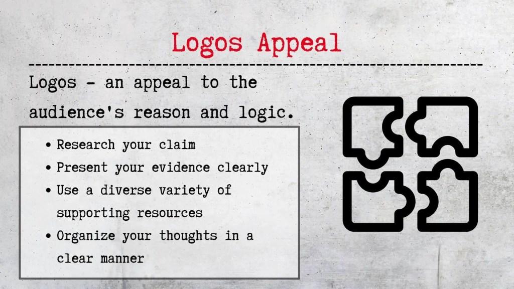 Logos appeal rhetorical appeals