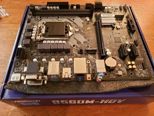 A B560M-HDV motherboard
