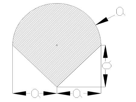 srodekciezkosci1 - Środek ciężkości figury płaskiej - mechanika - zadanie 16