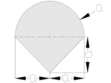 srodkiciezkosci2 - Środek ciężkości figury płaskiej - mechanika - zadanie 16