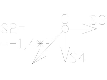 statyka18 - Kratownica płaska - metoda równoważenia węzłów - zadanie 22