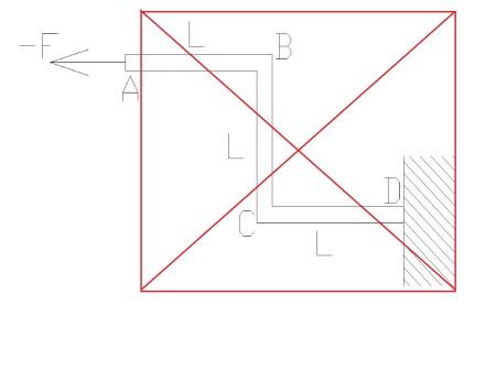 zlozona6 - Wytrzymałość złożona - rozciąganie ze zginaniem i ścinaniem - zadanie
