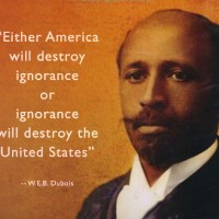 """Either America will destroy  ignorance  or  ignorance  will destroy the United States"""