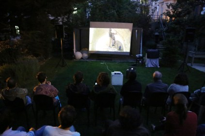 Private screening at Art Residence Aley, 2014