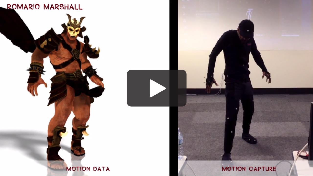 Animation Retargeting motion capture data - clean up/retargeting animation