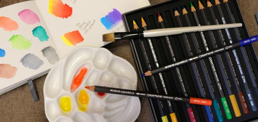Prismacolor watercolor pencils | artofrv.com