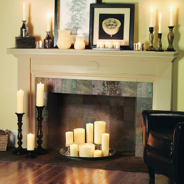 Amazing Decor Ideas For Unused Fireplaces