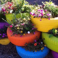 Recycled Container Gardens