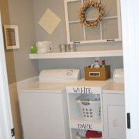 Creating an inviting laundry room