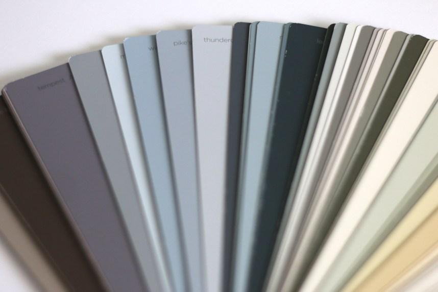 benjamin moore paint fan deck