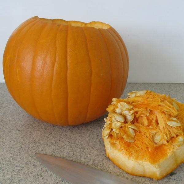 how to make a pumpkin vase