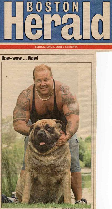 The real Hercules, Boston Herald