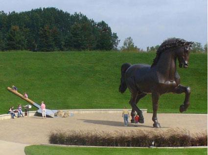 Paletta Grande - sculpture prank