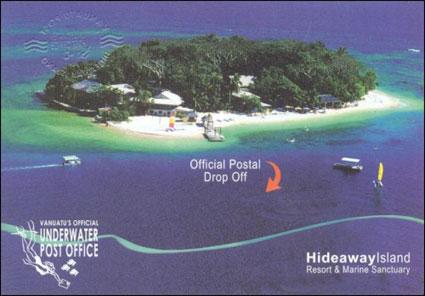 Underwater Post Office, Vanatu