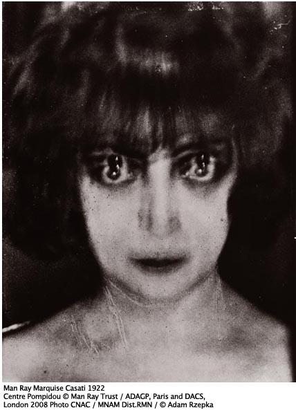 Man Ray Marquise Casati 1922