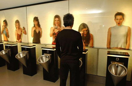 "Edge Design Men\""™s Restroom"