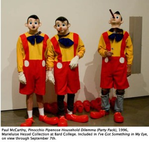 Paul McCarthy, Pinocchio Pipenose Household Dilemma (Party Pack), 1996