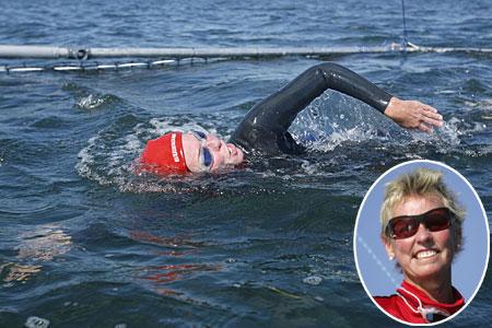 Jennifer Figge Swims the Atlantic Ocean, not