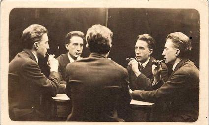 Portrait multiple de Marcel Duchamp (Five-Way Portrait of Marcel Duchamp), 1917