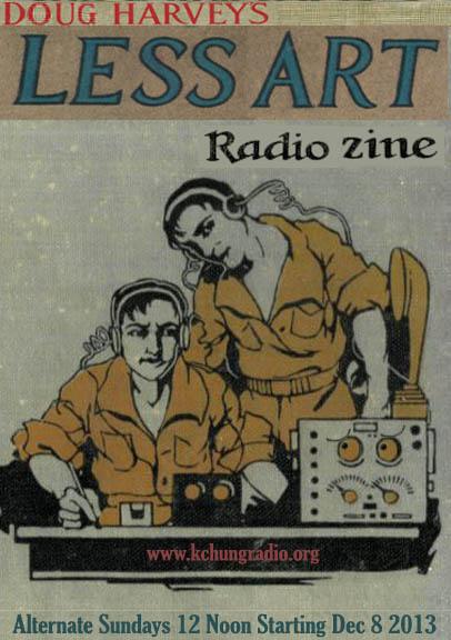 LESS ART RADIO ZINE 001