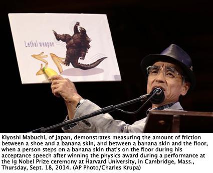 2014 IG Nobels, Harvard