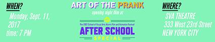 SVA After School Special screening
