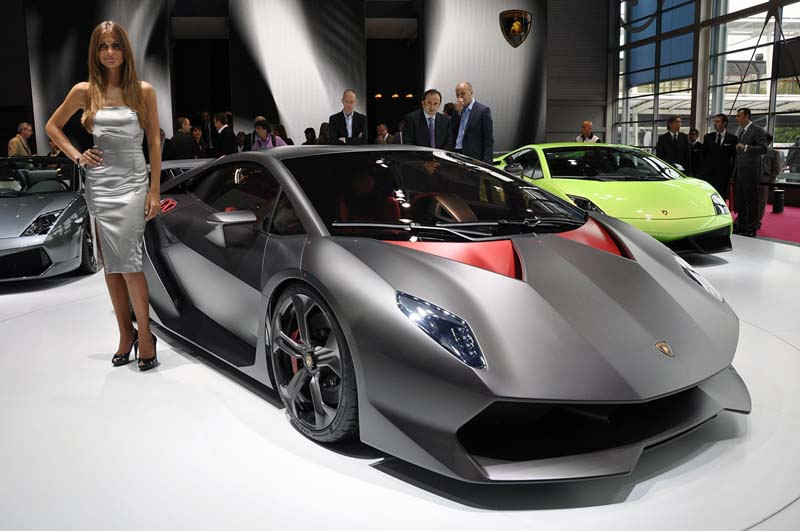 Lamborghini's Sesto Elemento Photoplay (5/6)