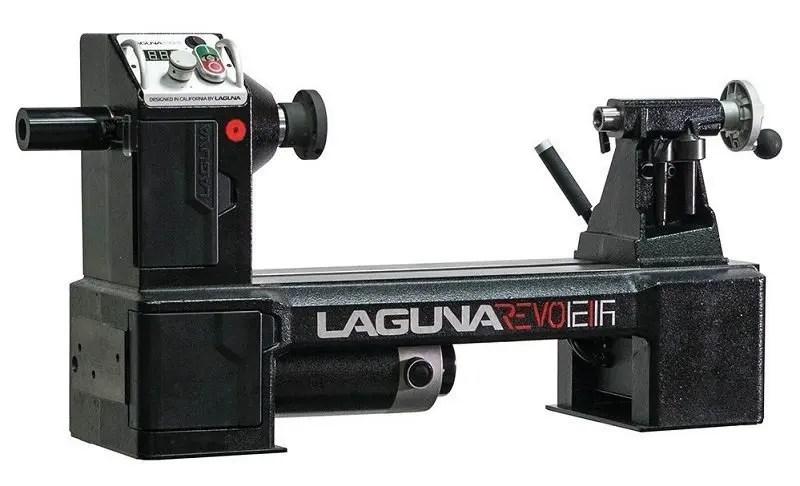 Woodturning basics, lathes. Laguna Revo 1216 Midi lathe.