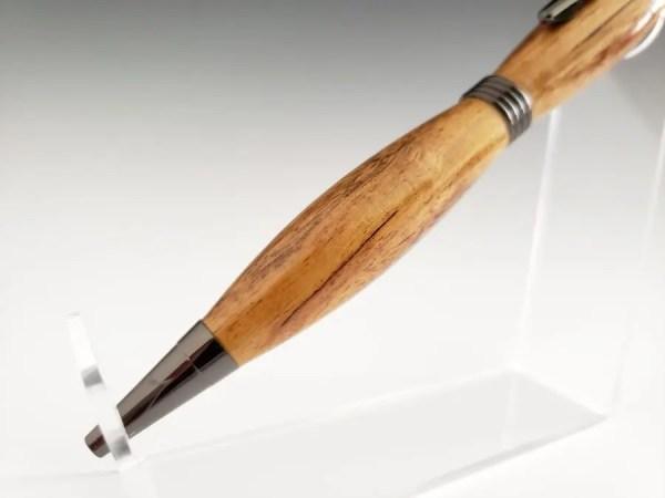 Wood turned Kiaat pen