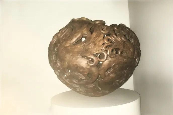 Wood carved vessel