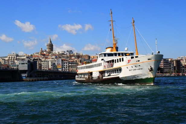 Turkey Istanbul Top 10 Sights Ferry Galata Bridge Tower Bosporus Tour