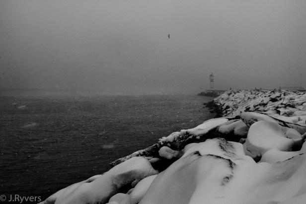 Kadıköy Istanbul Snow storm