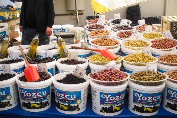 Olive Harvest Bursa Turkey