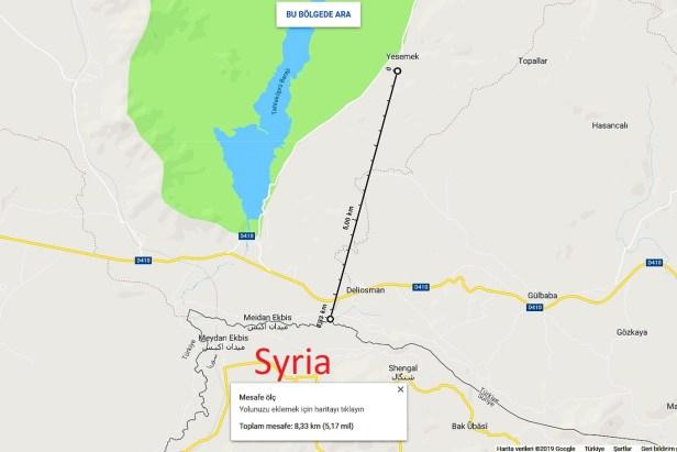 Blog Map Antep Yesemek Syria