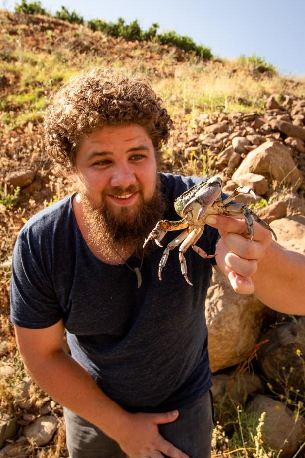 Fresh Water Crab Blogger