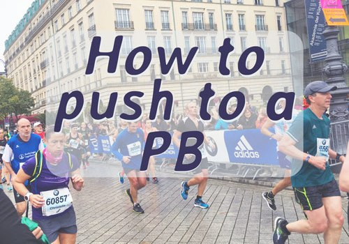 How to run a PB or PR