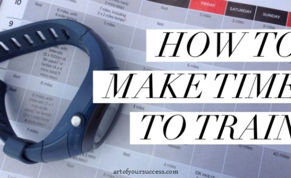 How to make time to train